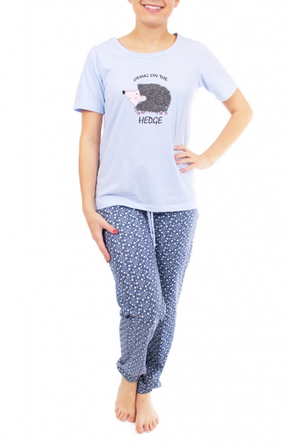 Vêtements de nuit Pyjamas Pantalons longs Patricia Lingerie - Pyjama «Living on the hedge»