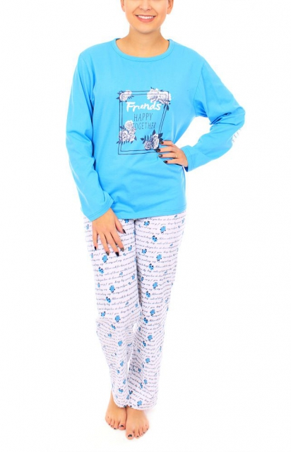 Pyjama «Friends happy together»