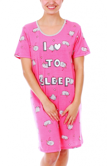 Robe de nuit «I LOVE TO SLEEP»