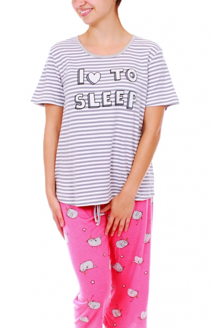 Pyjama capri «I LOVE TO SLEEP»