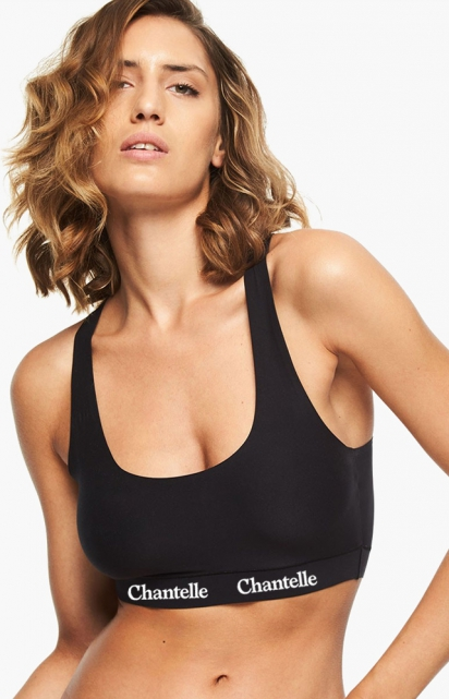 Soutien-gorge sans armatures - SOFT STRETCH SMOOTH CROP TOP